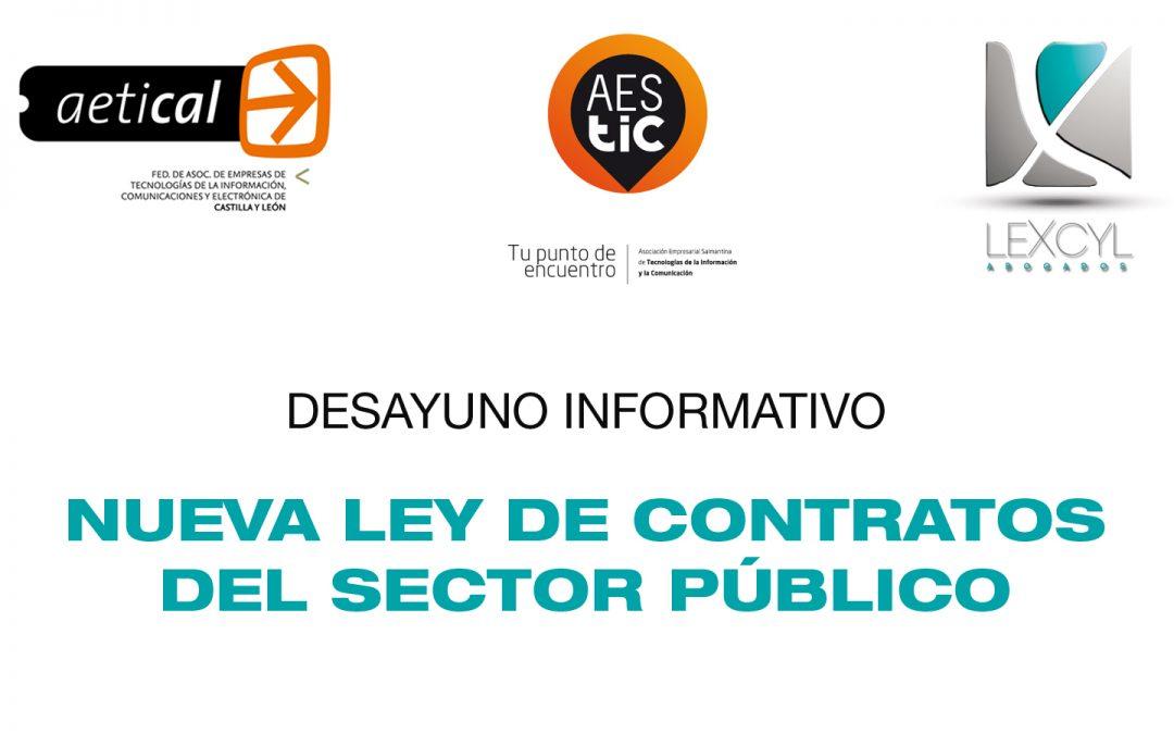 Presentación de la nueva ley de contratos del sector público