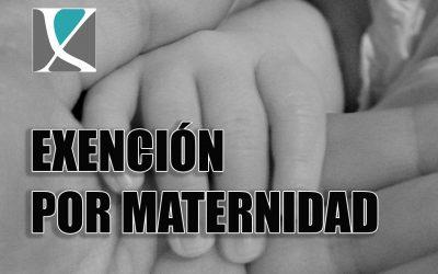 Exenciones fiscales en la prestación por maternidad